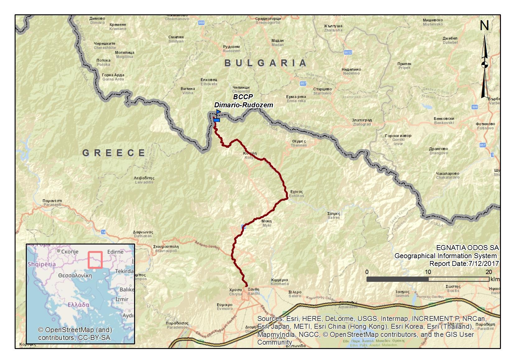 VA Xanthi-Echinos-Greek-Bulgarian Borders